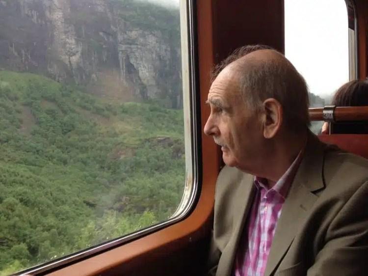 Treno in Norvegia
