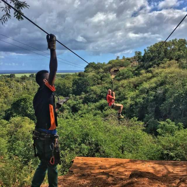 Mauritius: un giorno al Casela World of Adventures