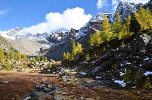 Preda Rossa, Val Masino