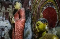 I Buddha del Tempio d'Oro - Dambulla