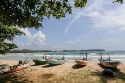 Pescatori sulla spiaggia del Dickwella Resort