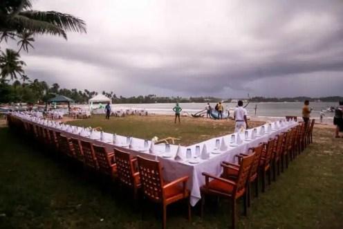 Cena sull'Oceano Indiano - Dickwella Resort