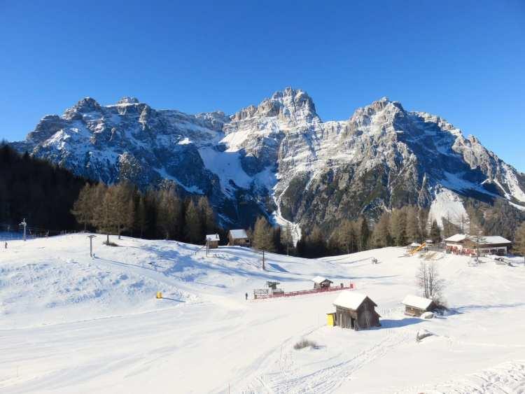 Moso, pista Croda Rossa, San Candido, Tre Cime, Dolomiti, Alto Adige, Sud Tirolo