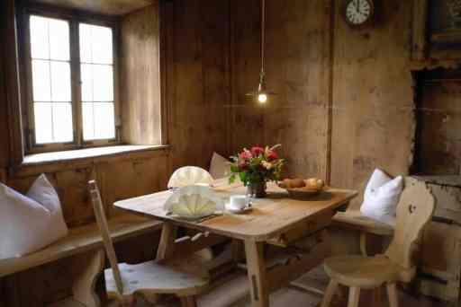 Una tavola nella Stube