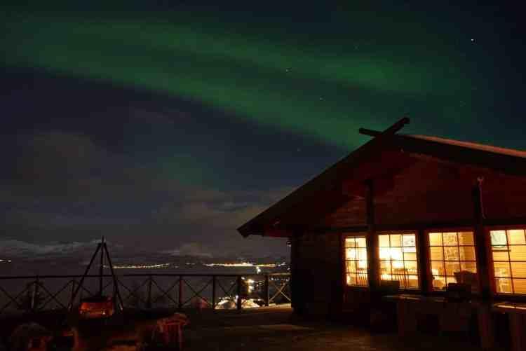 Norvegia artica, Narvik, aurora boreale Norvegia