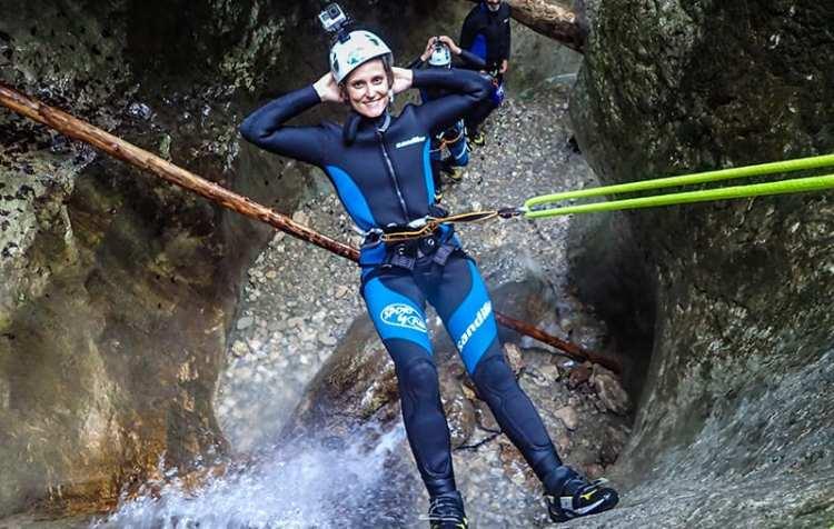 Canyoning a Bohinj