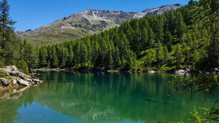 Lago Azzurro, Motta Alta