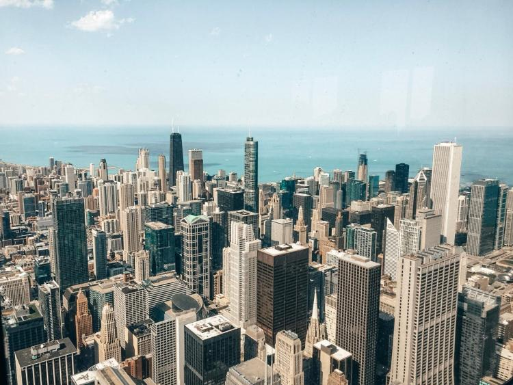 willis tower-visuale-dall'alto
