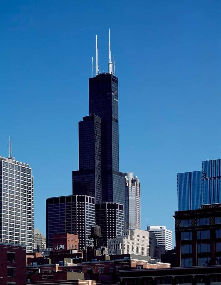 willis tower-visuale