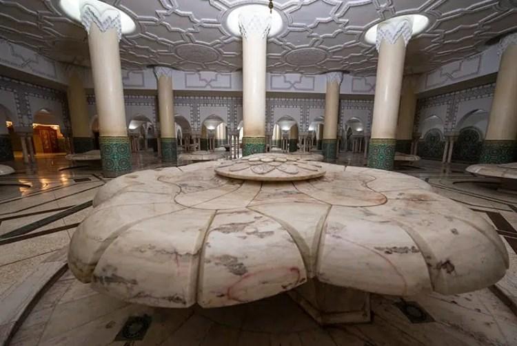 Sala delle Abluzioni - Moschea di Hassan II