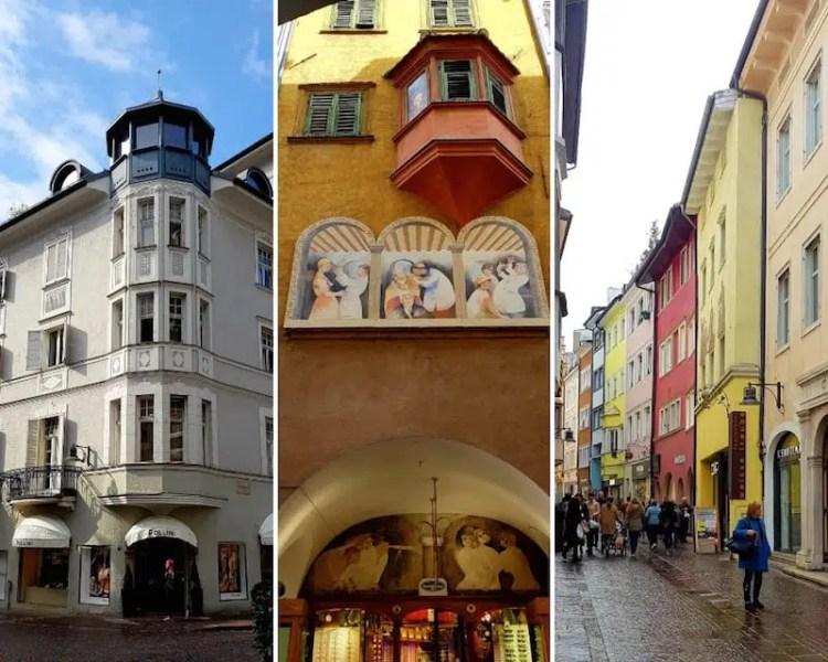 Bolzano edifici