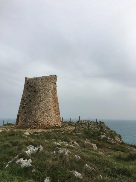 Torre Saracena nei pressi di Otranto