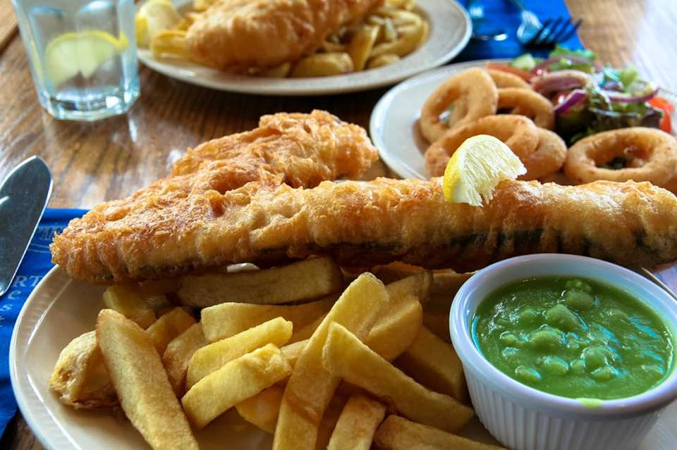 il fish & chips di Brighton