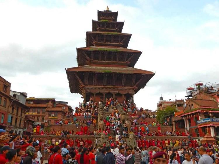 festival Gai Jatra a Bhaktapur