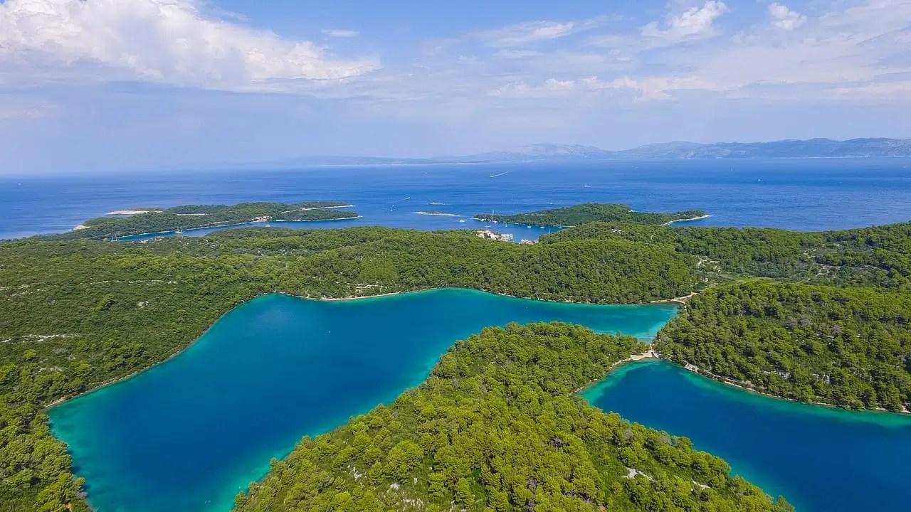 Île de Mljet Croatie