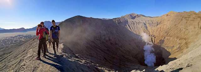 il cratere del monte bromo