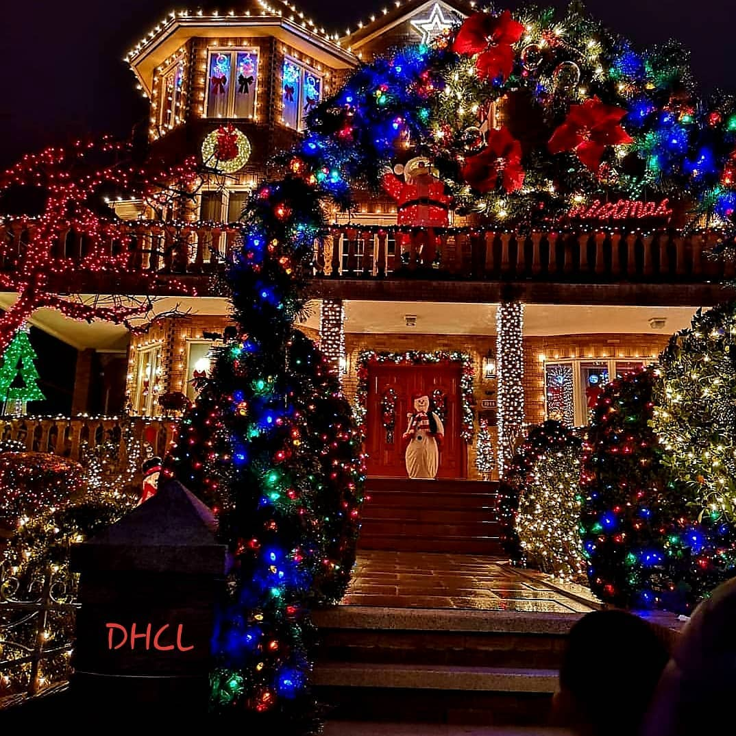 Dyker Heights a Brooklyn a Natale a New York
