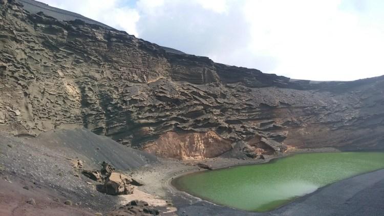 lago verde a lanzarote