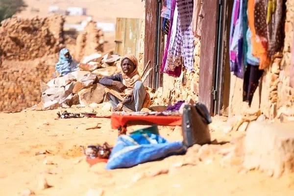 gente della Mauritania deserto