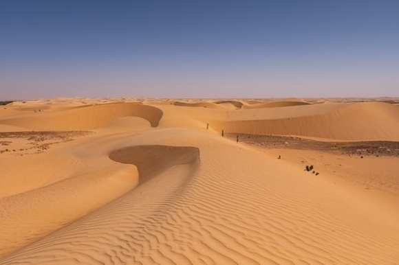 deserto in Mauritania