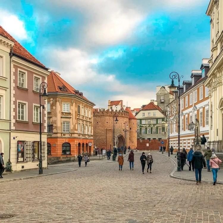 Barbacane, Cracovia