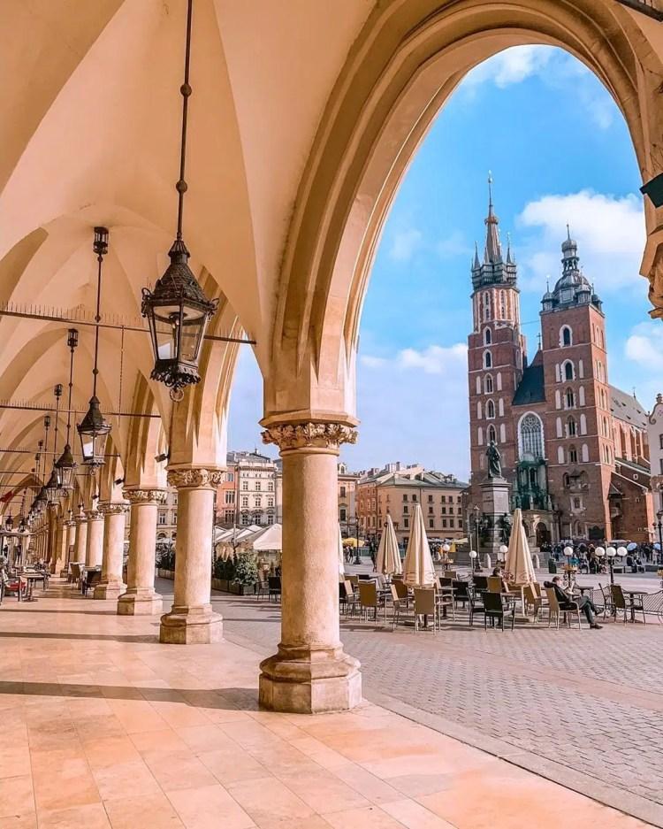 Sukiennice a Cracovia
