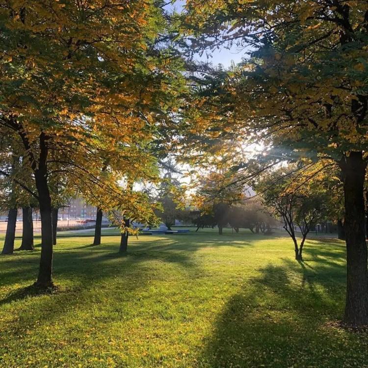 Il Parco Planty a cracovia