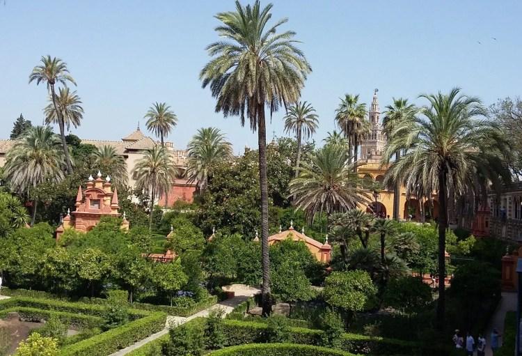 l'Alcazar i giardini