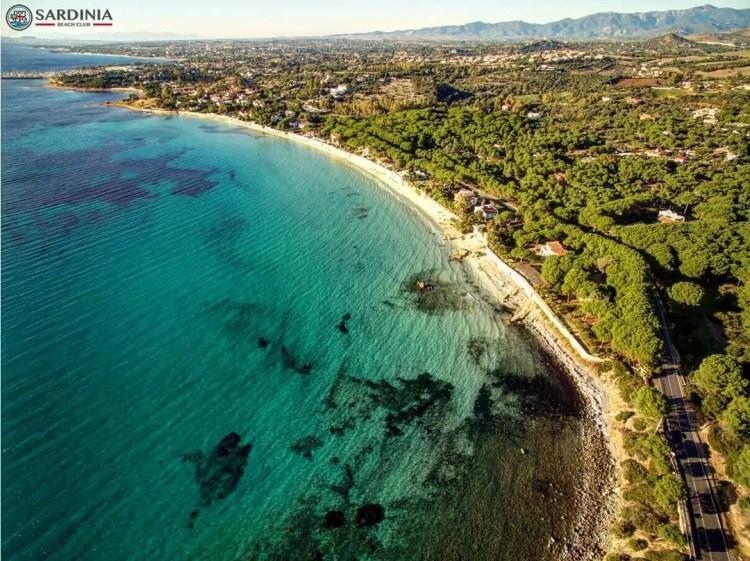 La spiaggia di Capitana in Sardegna