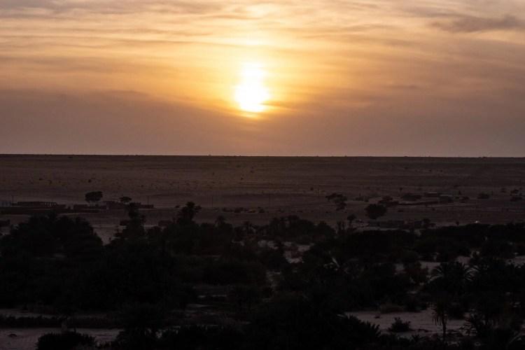 tramonto Mauritania