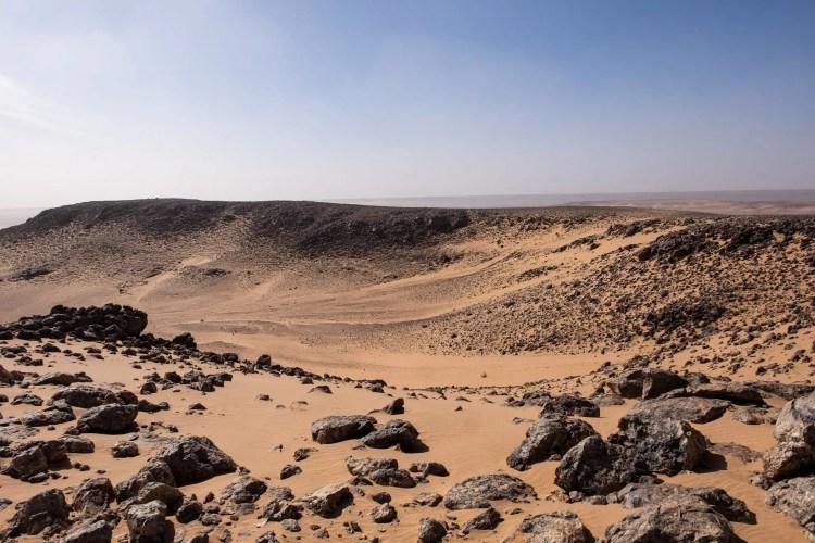 Il cratere di Guelb El Richat in Mauritania