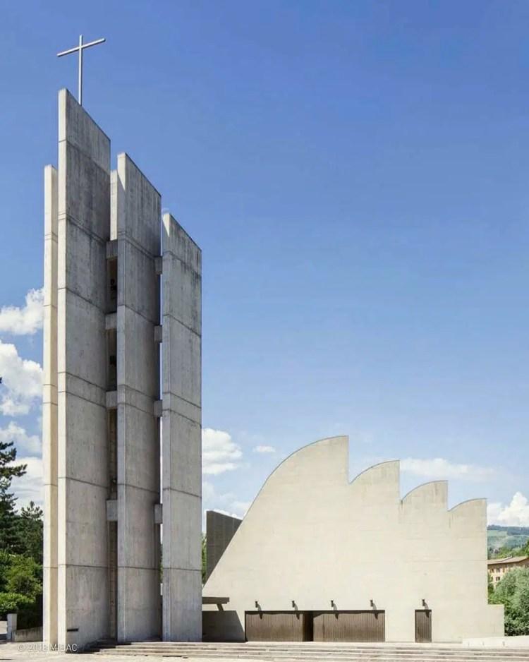 la chiesa di Riola di Vergato