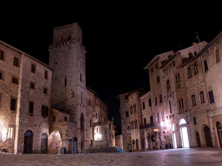 San Gimignano di sera