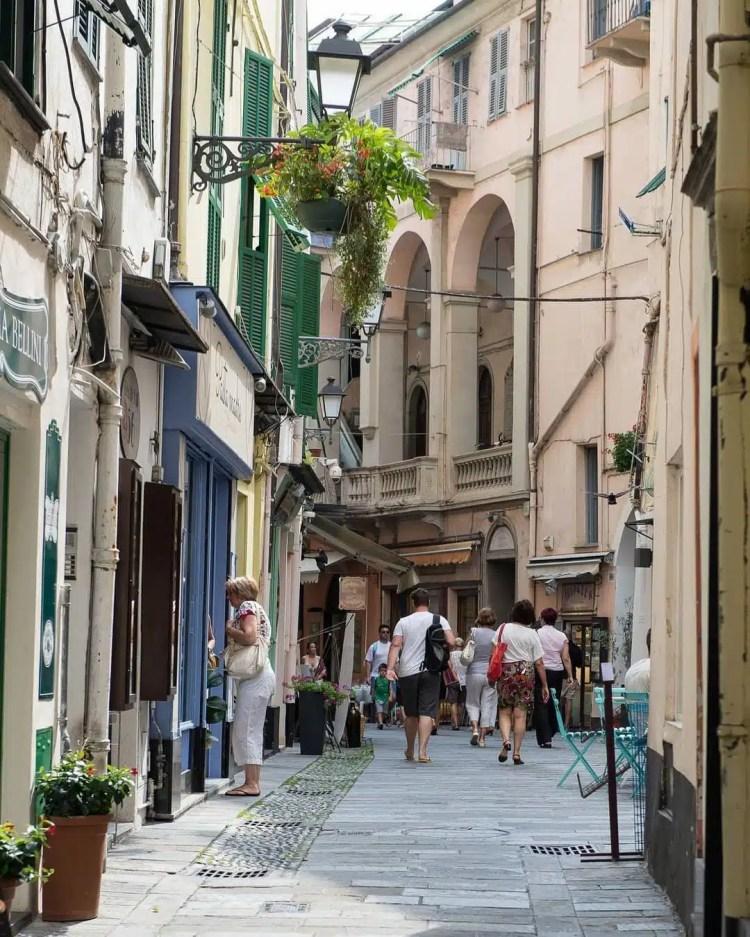 centro storico San remo