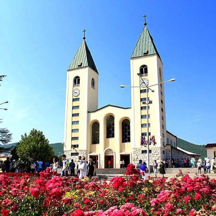 chiesa di Medugorje in Bosnia