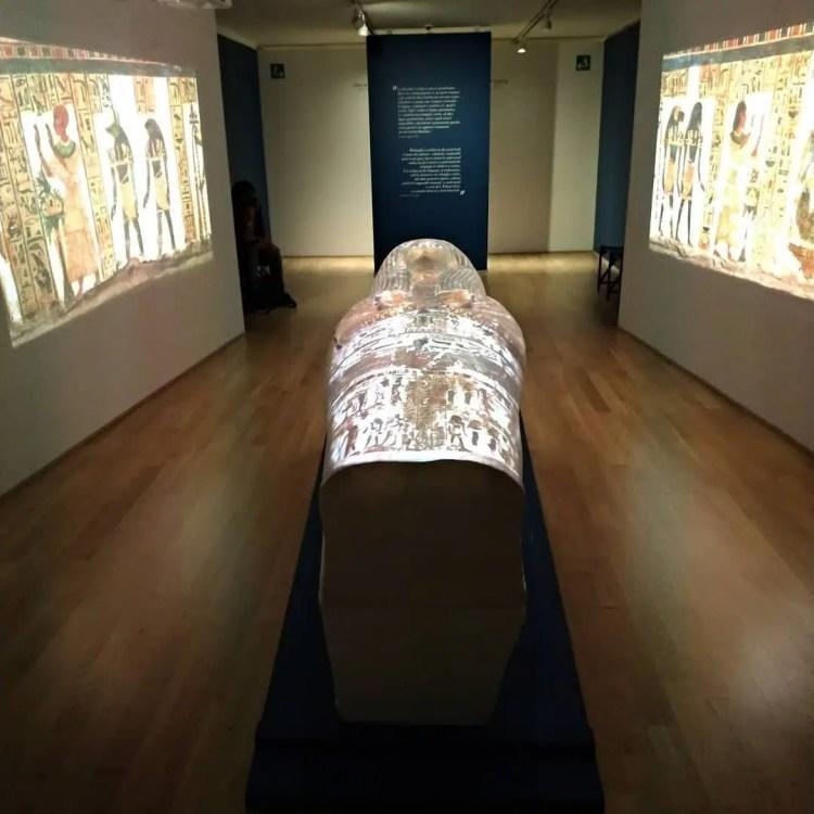Museo Egizio di Torino interno