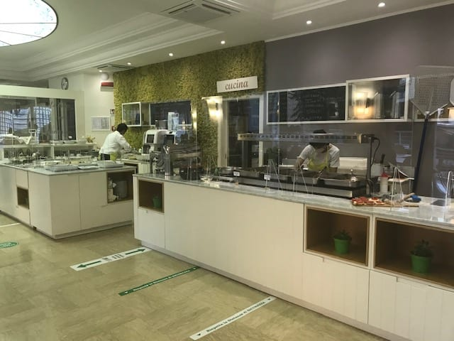 Hotel San Salvador di Bellaria Igea Marina il ristorante