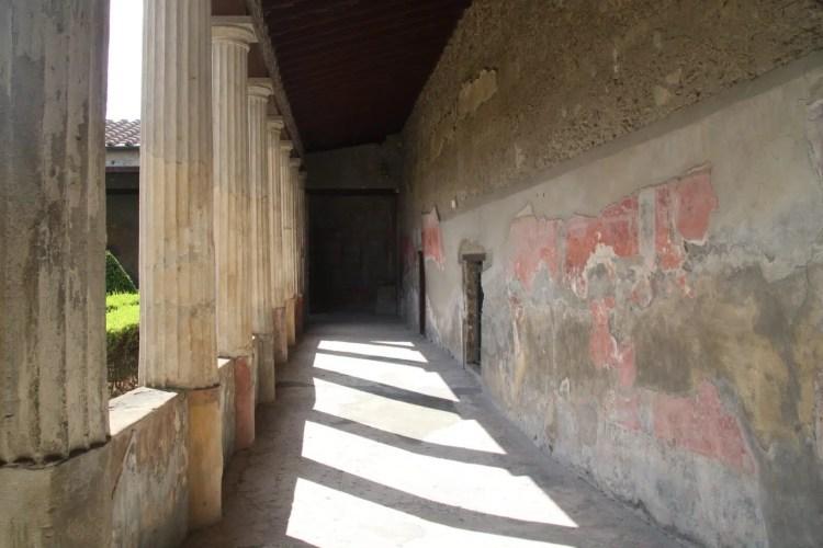 Una delle tante dimore di Pompei
