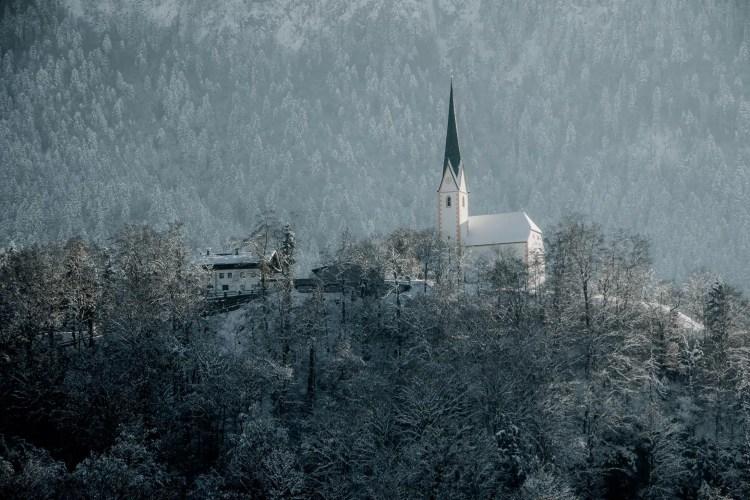 la chiesa di Kufsteinerland