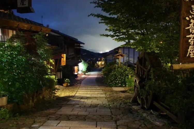 Magome in Giappone