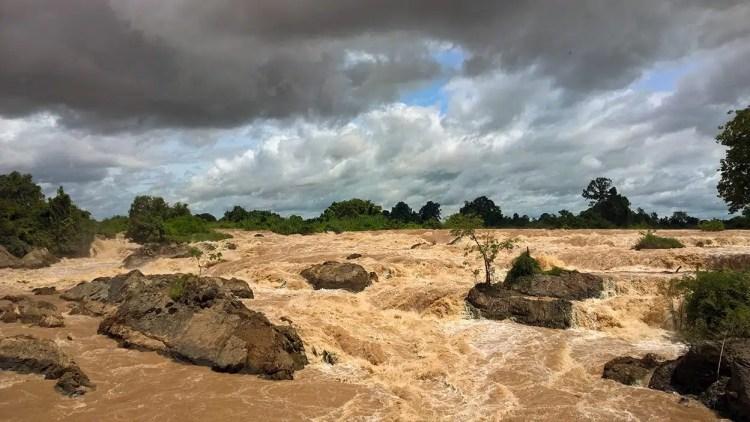 Le cascate del Mekong