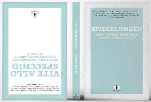 Buch Spiegelungen Vite allo Specchio Kurzgeschichtensammlung Anthologie Deutsch Italienisch Erzählungen Identität