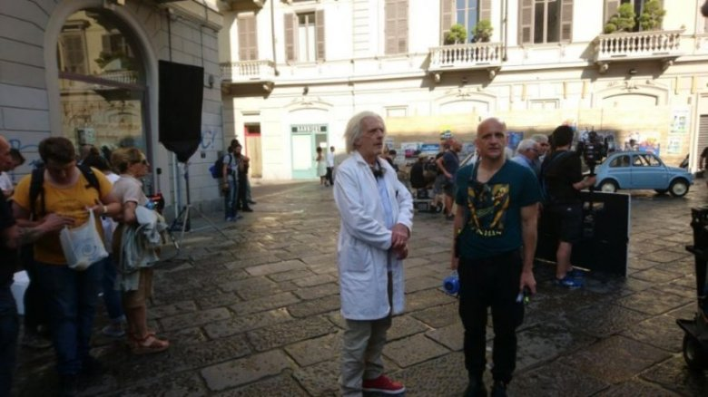 Doc di Ritorno al Futuro a Torino