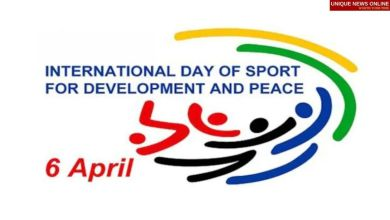 International Day of Sport for Development and Peace 2021 Theme and Motivational Quotes