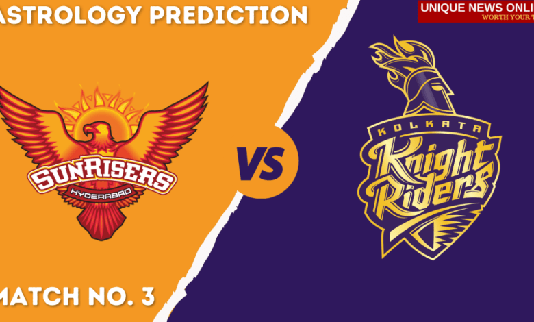 SRH vs KKR Match Astrology Prediction, Top Picks, Dream11 Tips, Captain & Vice-Captain, and who will win Sunrisers Hyderabad or Kolkata Knight Riders – Predictions by Astrologer Yogendra