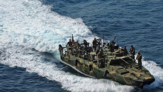 Με πυραύλους βρέθηκε αντιμέτωπο Πλοίο...