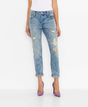 501® CT Jeans for Women - Torn Indigo