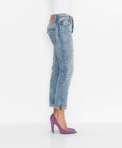 501® CT Jeans for Women - Torn Indigo3