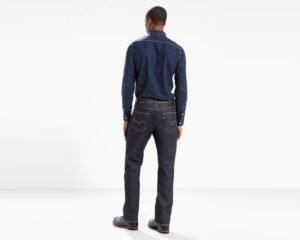 Levis 505 REGULAR FIT STRONG JEANS - Rock Cod3