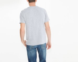 Levis 2 Horse Tee - Midtone Heather Grey2